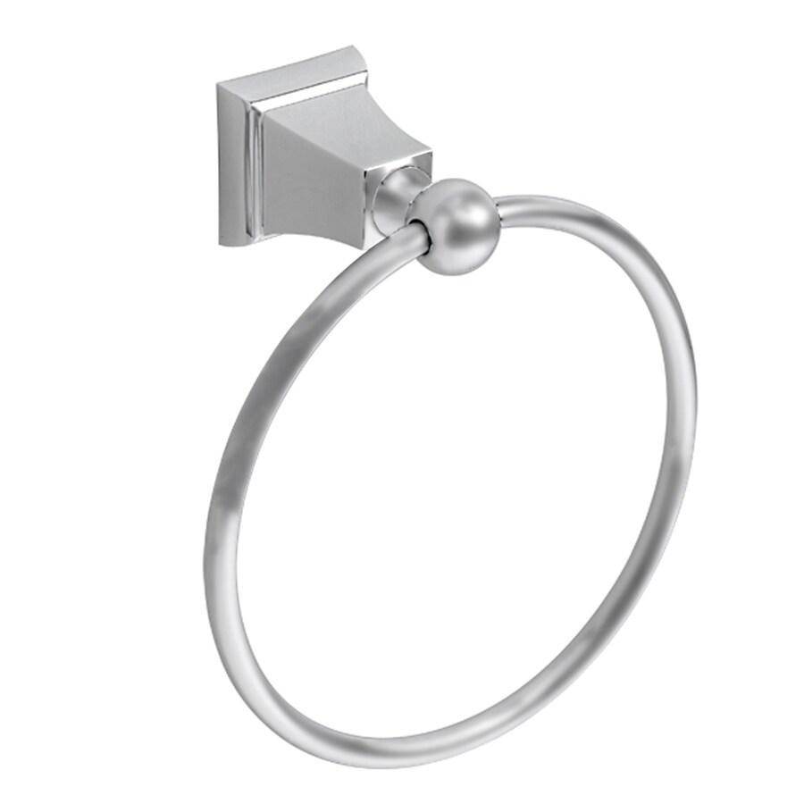 American Standard Ts Series Satin Nickel Wall Mount Towel Ring
