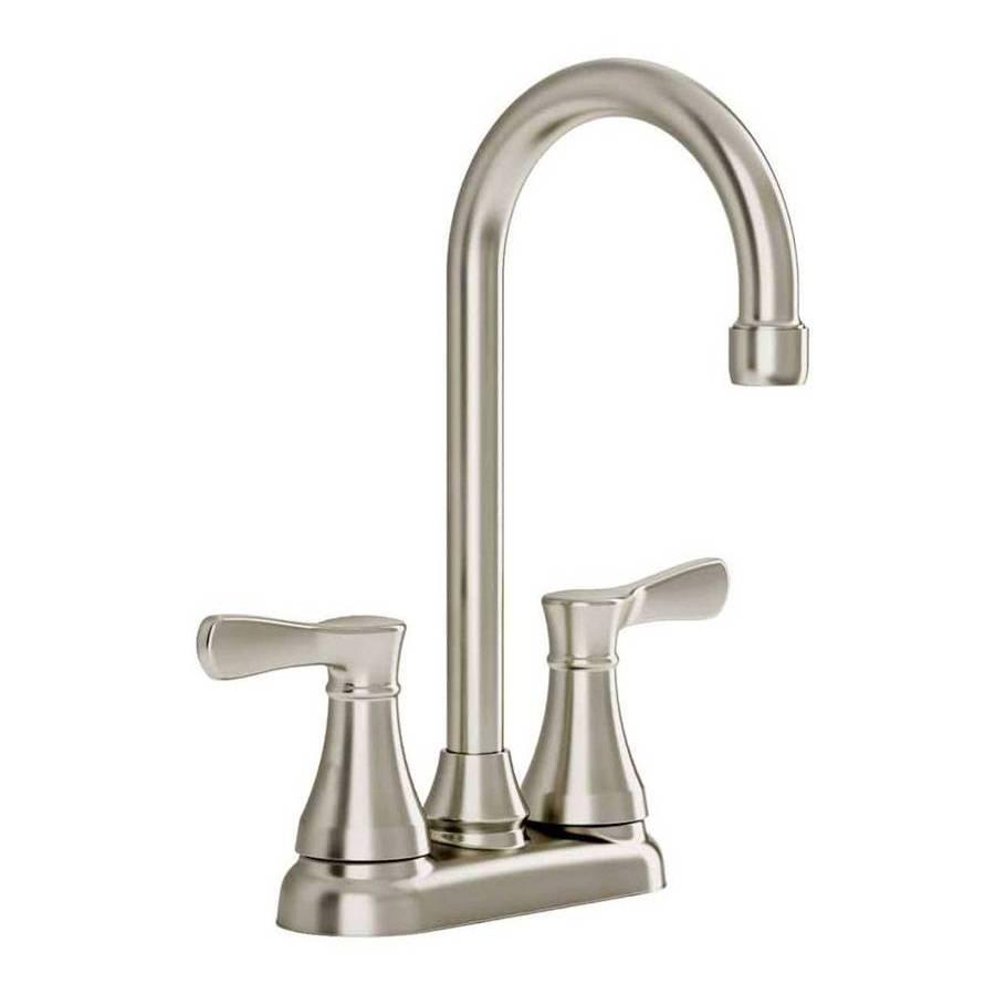 shop american standard cyprus stainless steel 2 handle kitchen american standard cyprus stainless steel 2 handle kitchen faucet