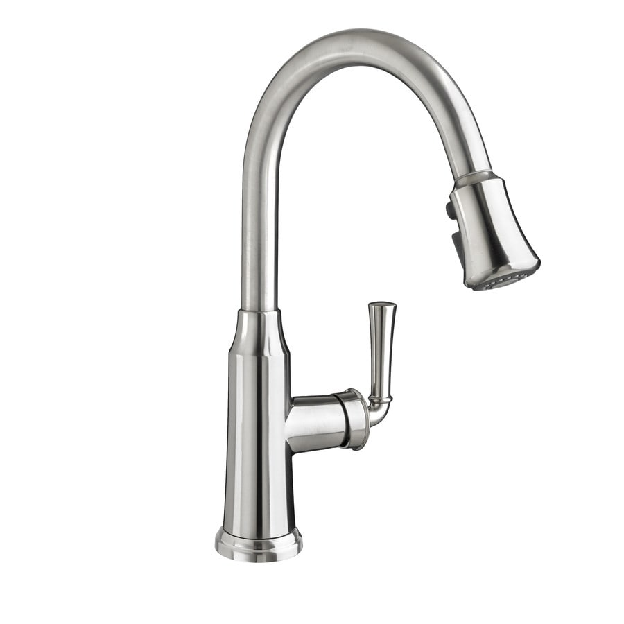 American Standard Portsmouth Stainless Steel 1-Handle Deck Mount Pull-Down Kitchen Faucet