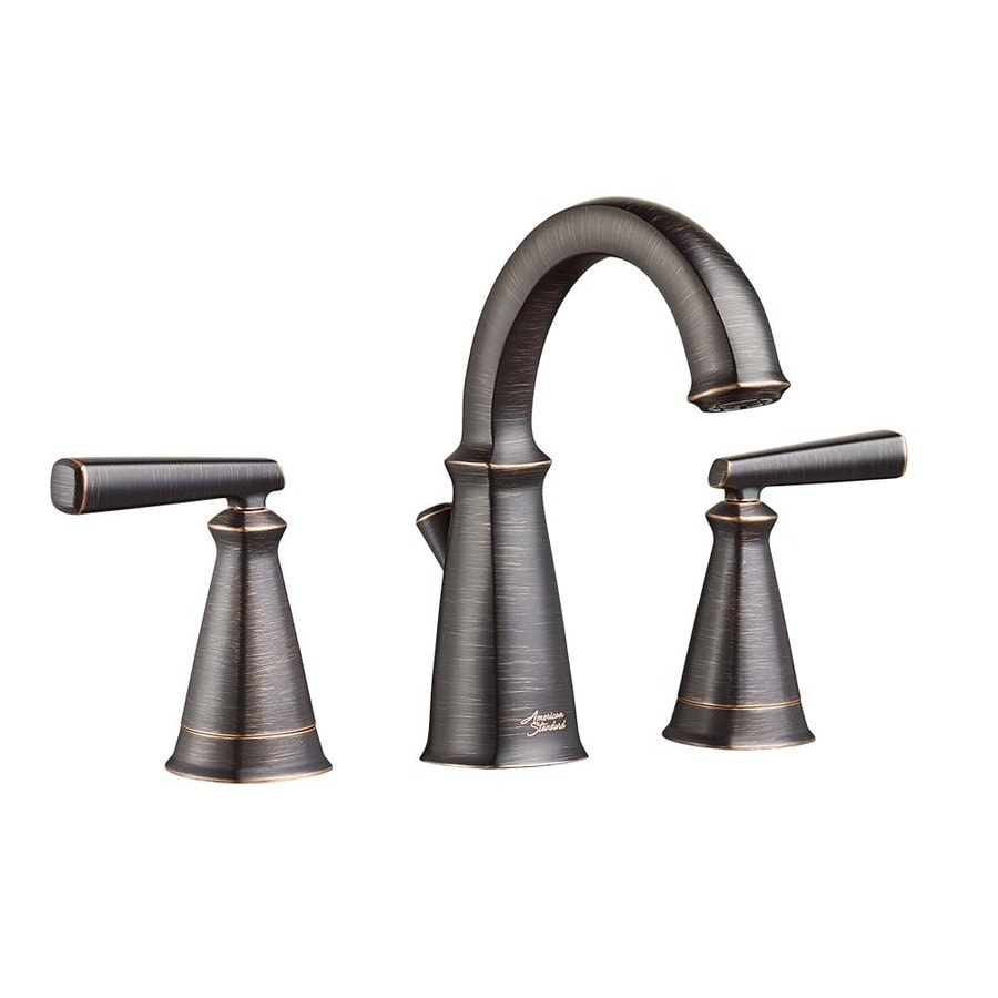 American Standard Kirkdale Legacy Bronze 2-Handle Widespread WaterSense Bathroom Faucet