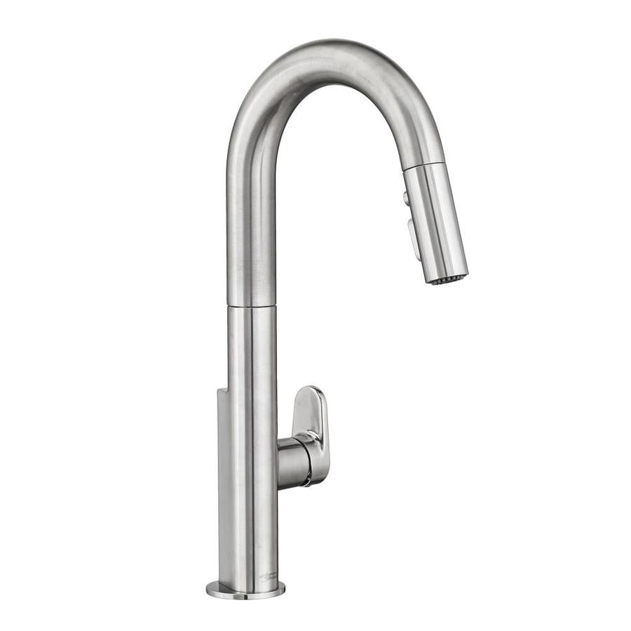 American Standard Beale Stainless Steel 1-Handle Deck Mount Pull-Down Kitchen Faucet