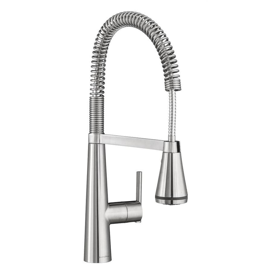 American Standard Edgewater Stainless Steel 1-Handle Deck Mount Pull-Down Kitchen Faucet