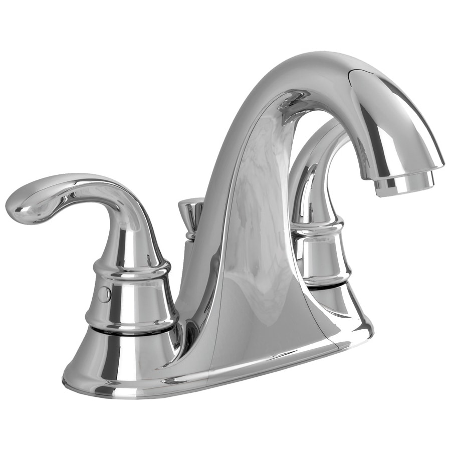 American Standard Harrison Chrome 2-Handle 2-Hole WaterSense Bathroom Faucet (Drain Included)