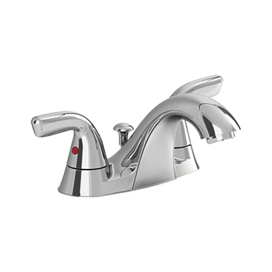 American Standard Covina Chrome 2-Handle 2-Hole WaterSense Bathroom Faucet (Drain Included)