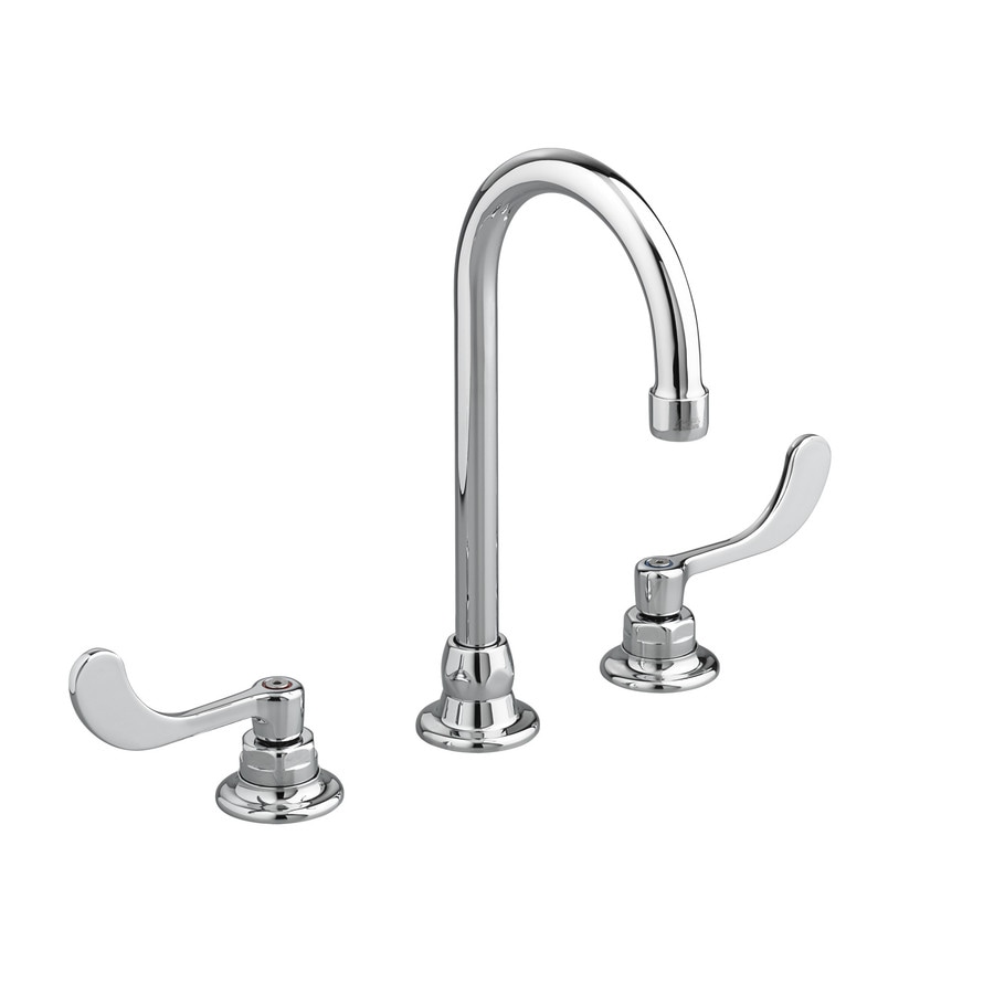 American Standard Monterrey Polished Chrome 2-Handle Widespread WaterSense Bathroom Faucet (Drain Included)