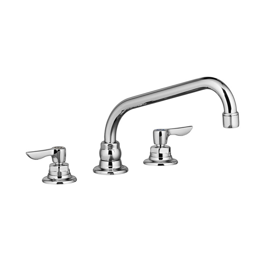 American Standard Monterrey Polished Chrome 2-Handle High-Arc Kitchen Faucet with Side Spray