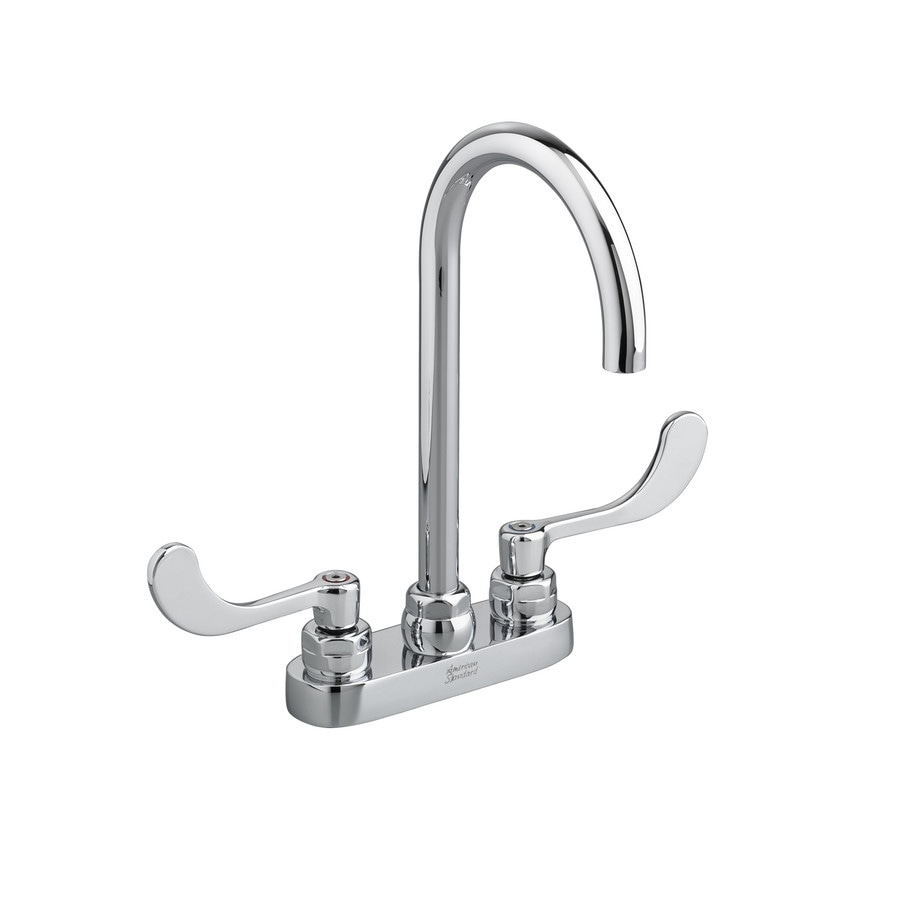 Shop American Standard Monterrey Polished Chrome 2 Handle 4 In Centerset Watersense Bathroom