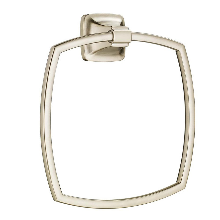 American Standard Satin Nickel Wall Mount Towel Ring