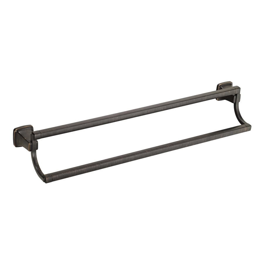 American Standard Townsend Legacy Bronze Double Towel Bar (Common: 24-in Double; Actual: 24-in)