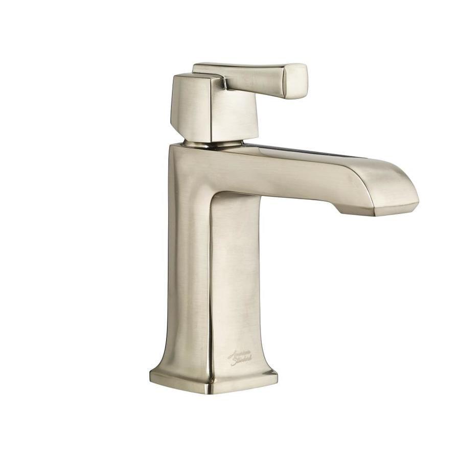 Shop American Standard Townsend Satin Nickel 1 Handle Single Hole Watersense Bathroom Faucet
