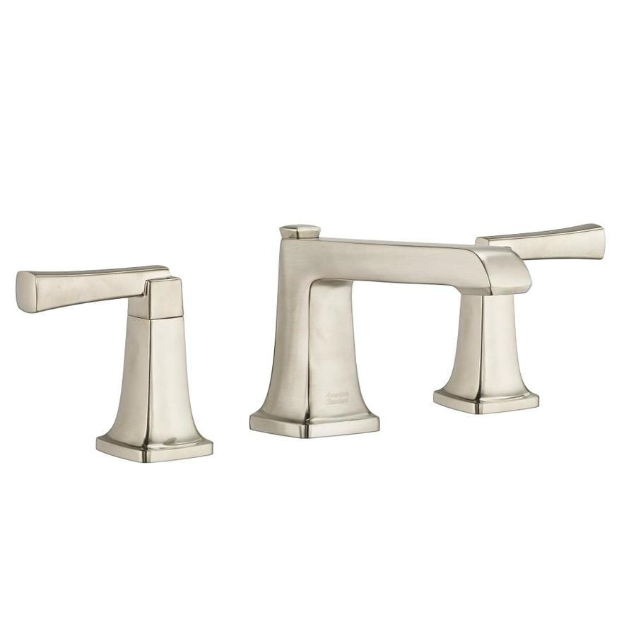 American Standard Townsend Satin Nickel 2-Handle Widespread WaterSense Bathroom Faucet (Drain Included)