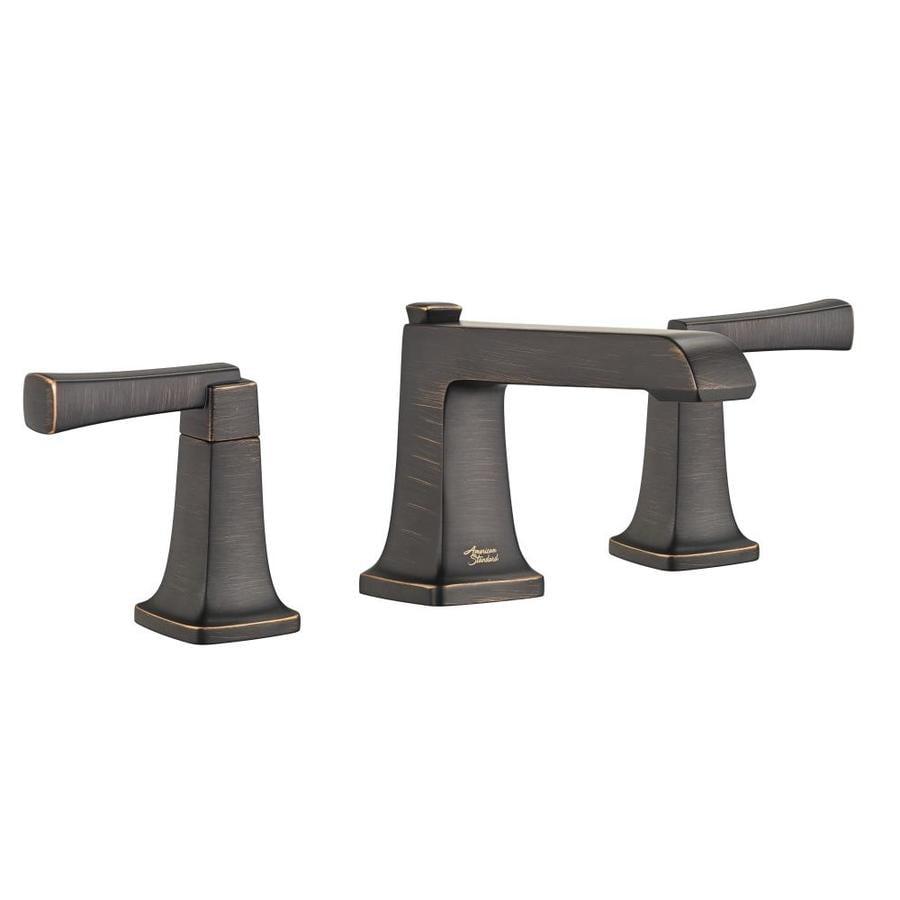 American Standard Townsend Legacy Bronze 2-Handle Widespread WaterSense Bathroom Faucet (Drain Included)