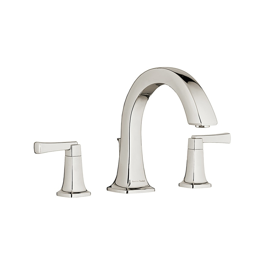 American Standard Townsend Polished Nickel 2-Handle-Handle Fixed Deck Mount Bathtub Faucet