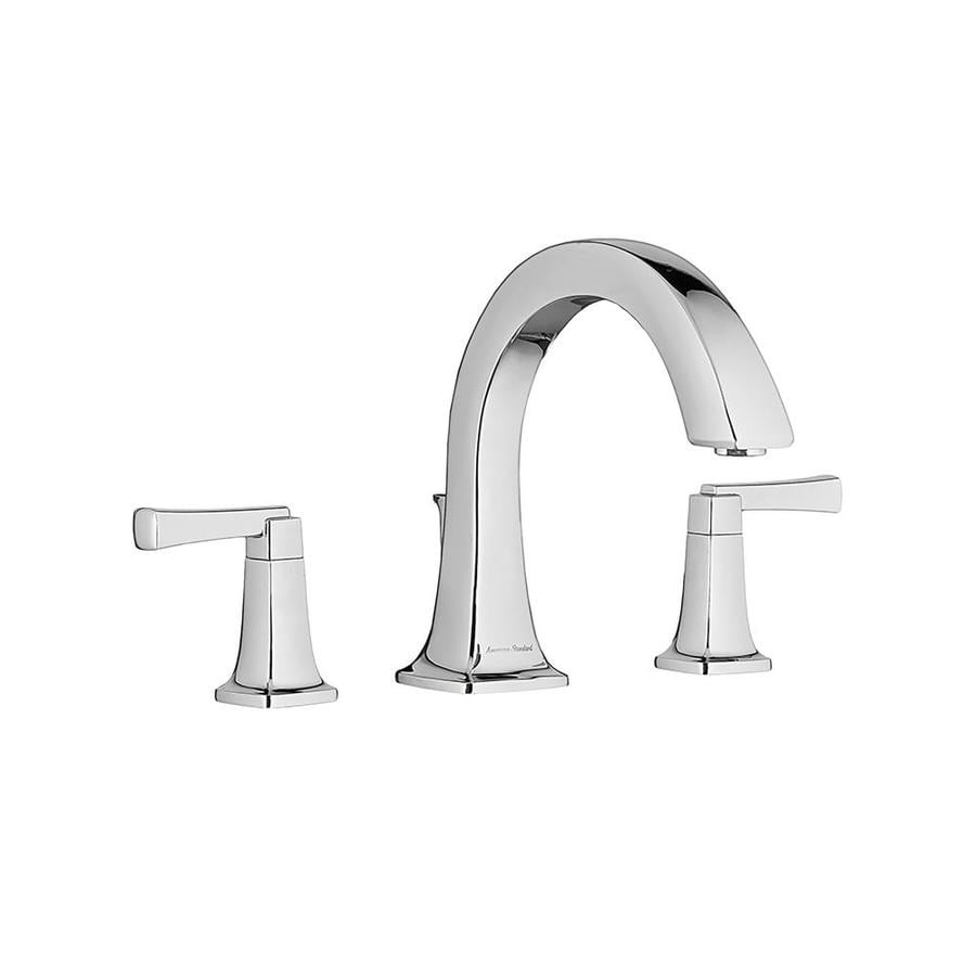 American Standard Townsend Polished Chrome 2-Handle-Handle Fixed Deck Mount Bathtub Faucet