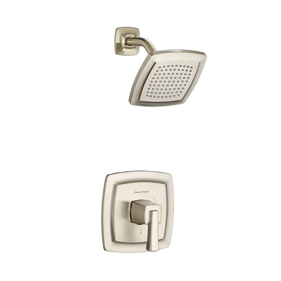 American Standard Townsend Satin Nickel Shower Wall Trim and Handle