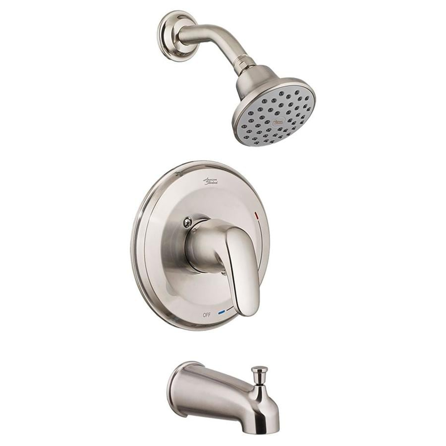 American Standard Colony Pro Satin Nickel Shower Wall Trim Kit