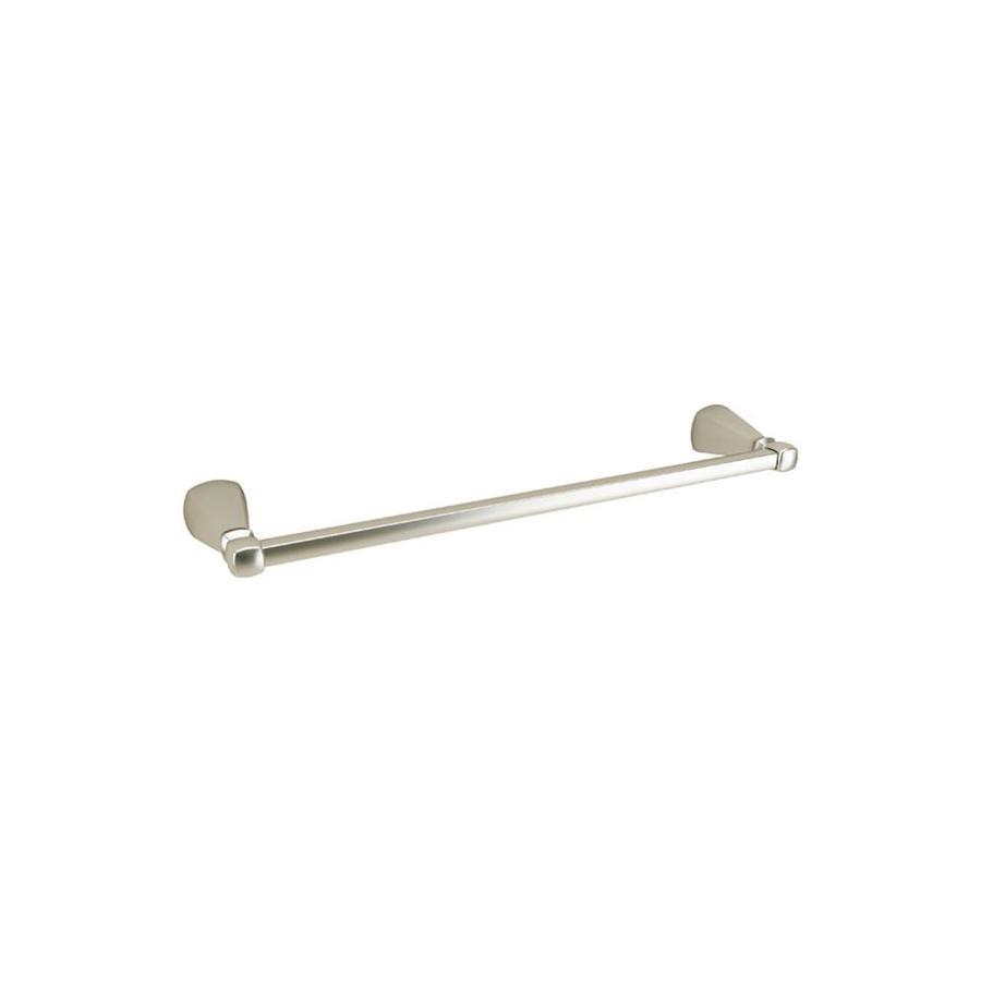American Standard Edgemere Brushed Nickel Single Towel Bar (Common: 18-in; Actual: 18-in)