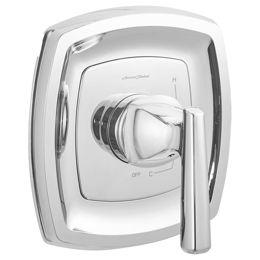 American Standard Edgemere Polished Chrome 1-Handle Bathtub and Shower Faucet with Valve