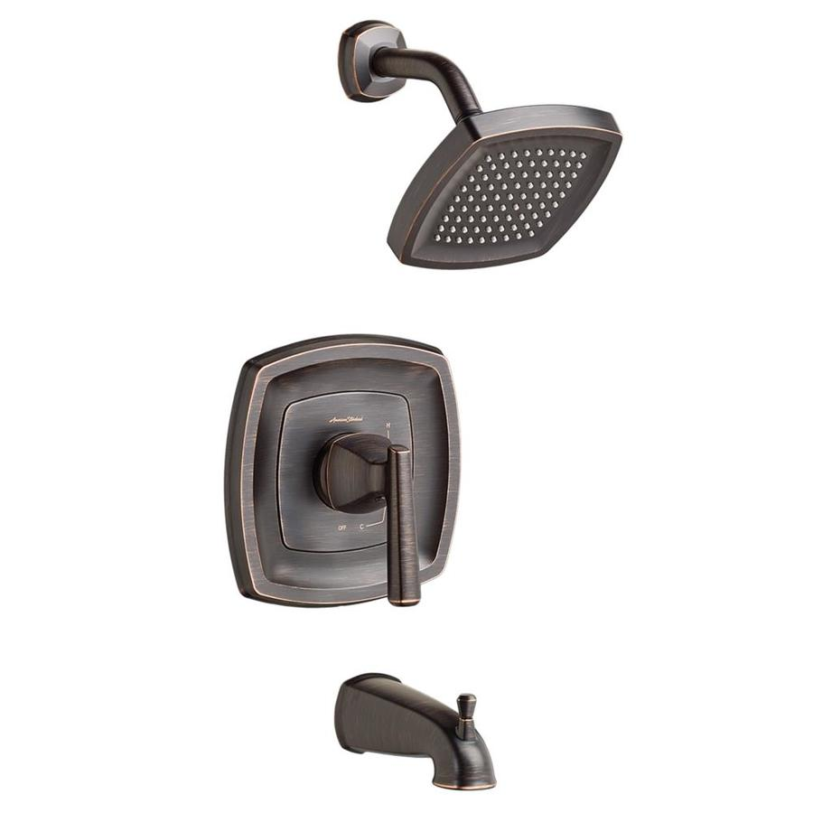 American Standard Edgemere Legacy Bronze 1-Handle Bathtub and Shower Faucet with Valve