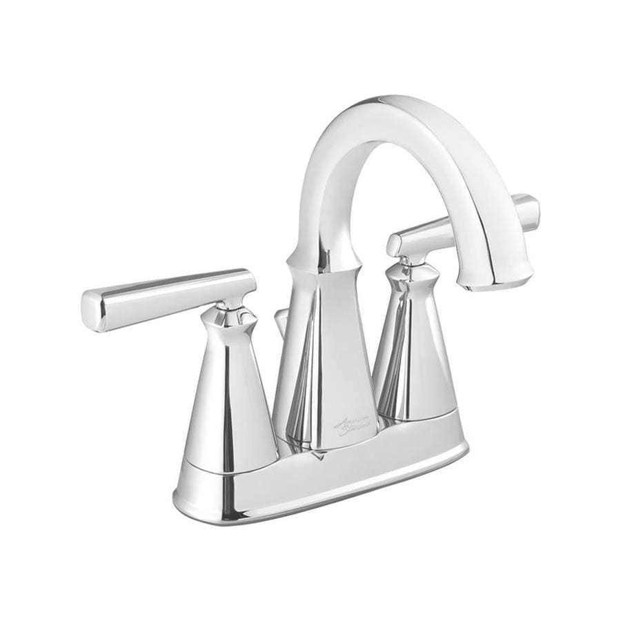 Shop American Standard Edgemere Chrome 2 Handle 4 In Centerset Bathroom Faucet At