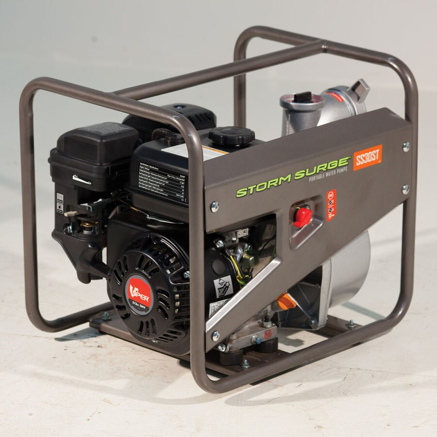 Storm Surge 5.5-HP Cast Iron Gas-Powered Utility Pump