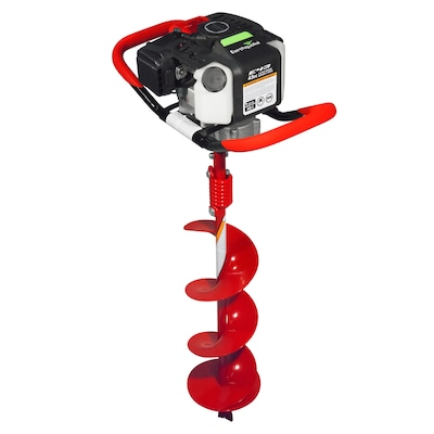 """Earthquake EARTHQUAKE 35064 Earth Auger Powerhead with 8"""" Auger Bit Combo, Post Hole Digger, 1-Man 43CC Two Cycle Engine"""