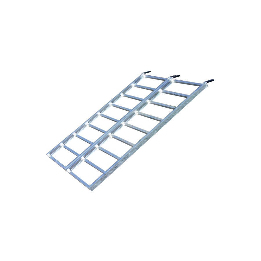 Yutrax 4-ft x 5.75-ft 1,250-lb Capacity Folding Aluminum Loading Ramp