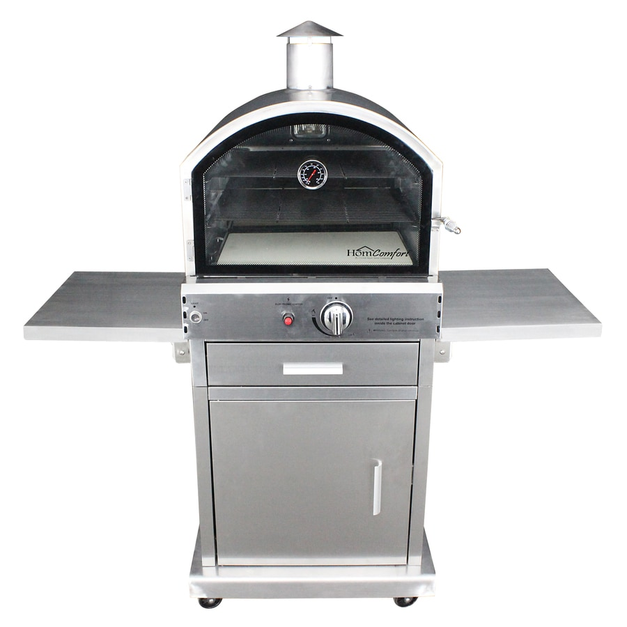 Homcomfort Hearth Liquid Propane Outdoor Pizza Oven