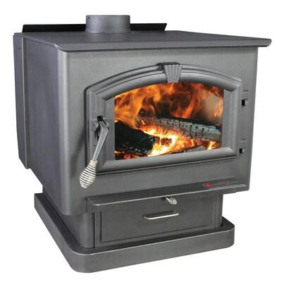 Us Stove Company 3000 Sq Ft Wood Burning Stove At Lowes Com