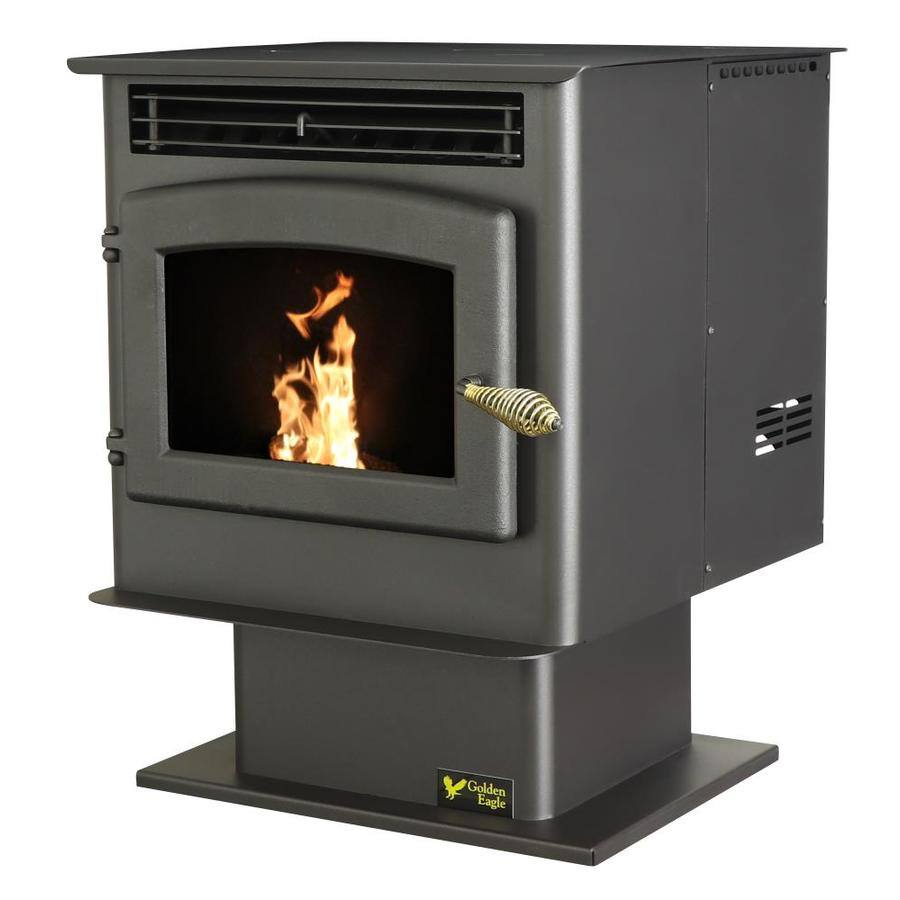 Shop US Stove Company 1800 Sq Ft Pellet Stove At Lowes