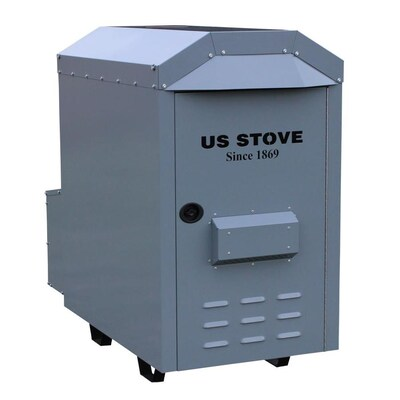 US Stove Company 3,000 Sq. Ft. EPA Certified Outdoor Wood ... on backyard lights, backyard kilns, backyard awnings, backyard tools, backyard roofing, backyard doors, backyard coolers,