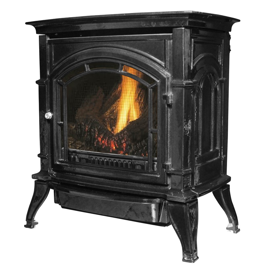 Ashley Hearth Products 1,000-sq ft Single-Burner Vent-Free Natural Gas Stove