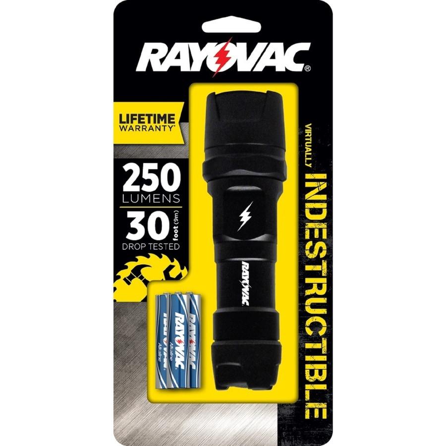 Rayovac 250-Lumen LED Handheld Battery Flashlight (Battery Included)