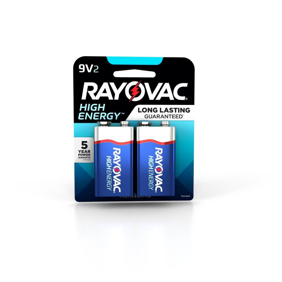 Rayovac 2-Pack PP3 (9v) Alkaline Battery