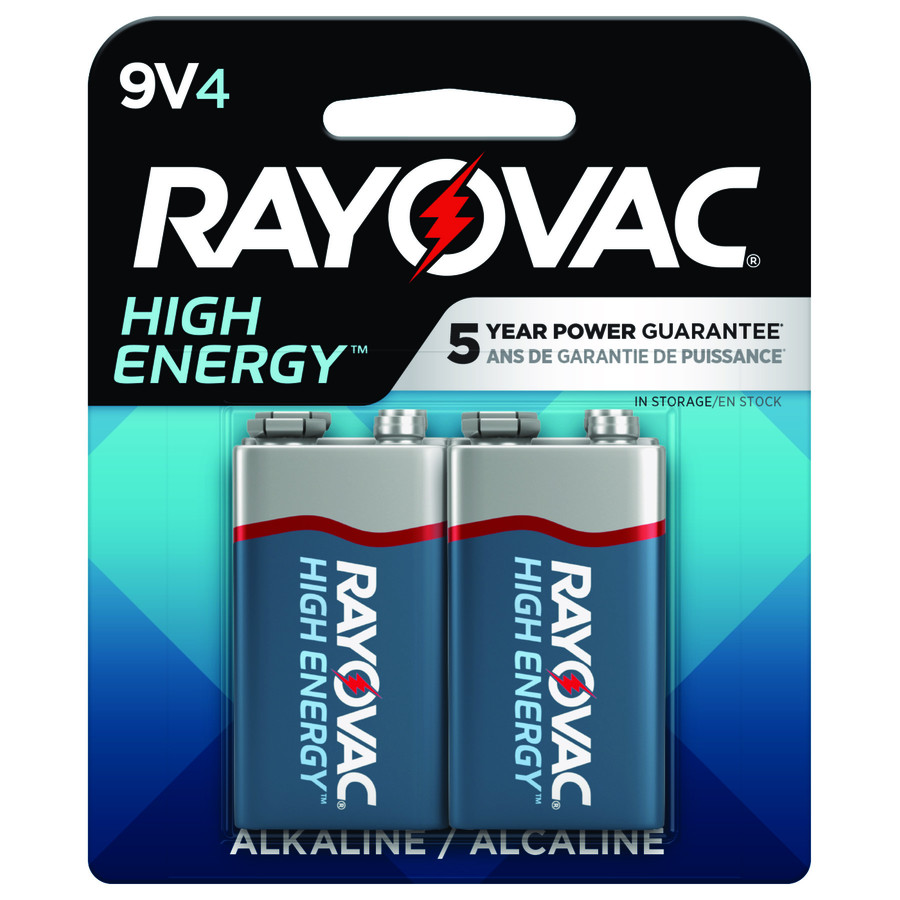 Rayovac 4-Pack Pp3 (9V) Alkaline Battery