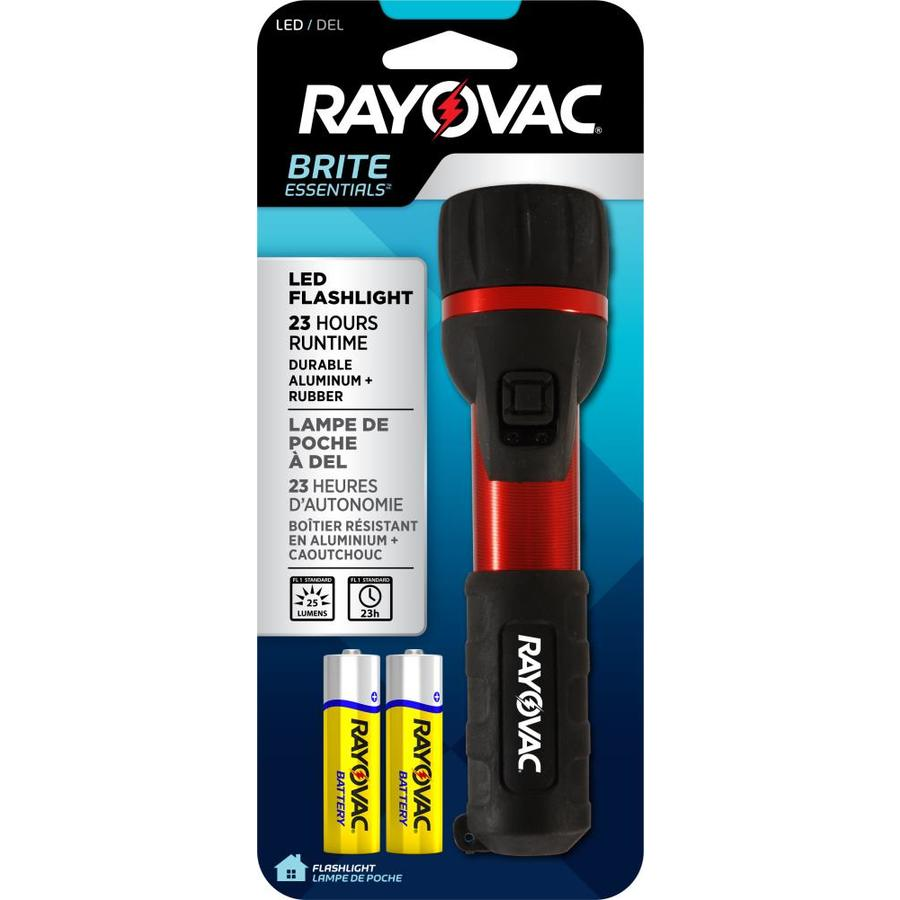 Rayovac 25-Lumen LED Handheld Battery Flashlight (Battery Included)
