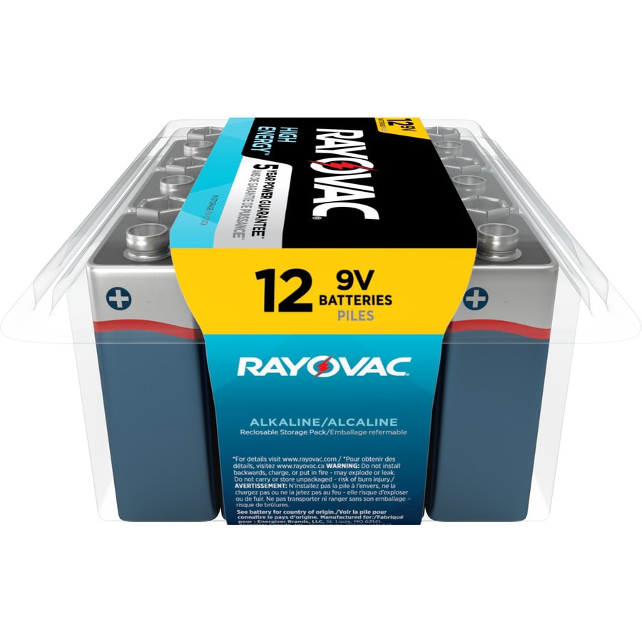 Rayovac 12-Pack PP3 (9v) Alkaline Battery