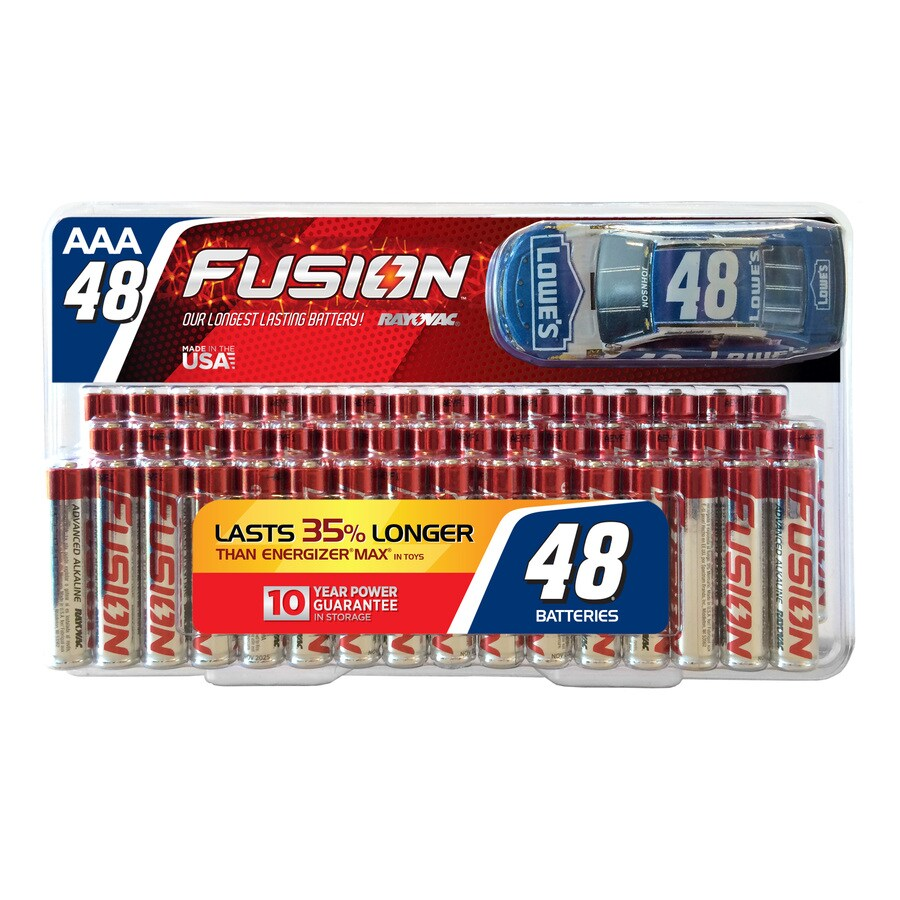 Rayovac 48-Pack AAA Alkaline Battery