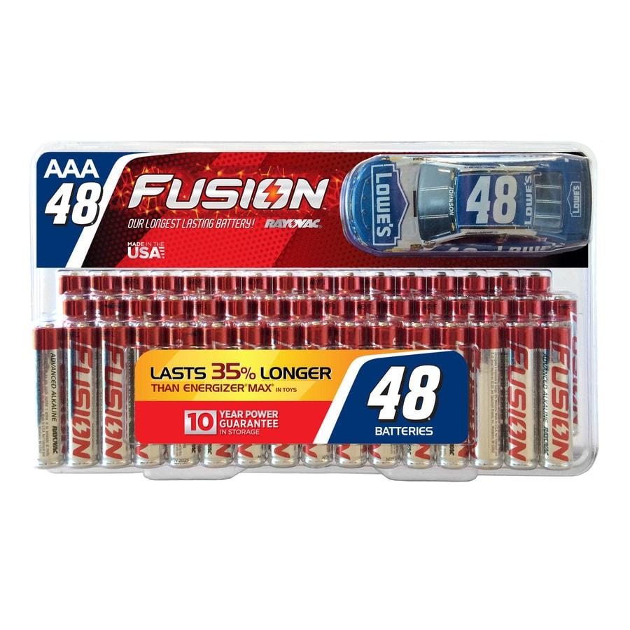 Rayovac 48-Pack AAA Alkaline Batteries