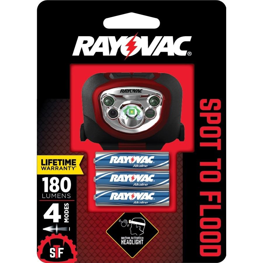 Rayovac 180-Lumen LED Headlamp Battery Flashlight (Battery Included)