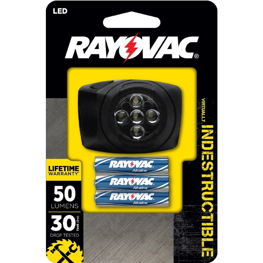 Rayovac 50-Lumen LED Headlamp Battery Flashlight (Battery Included)