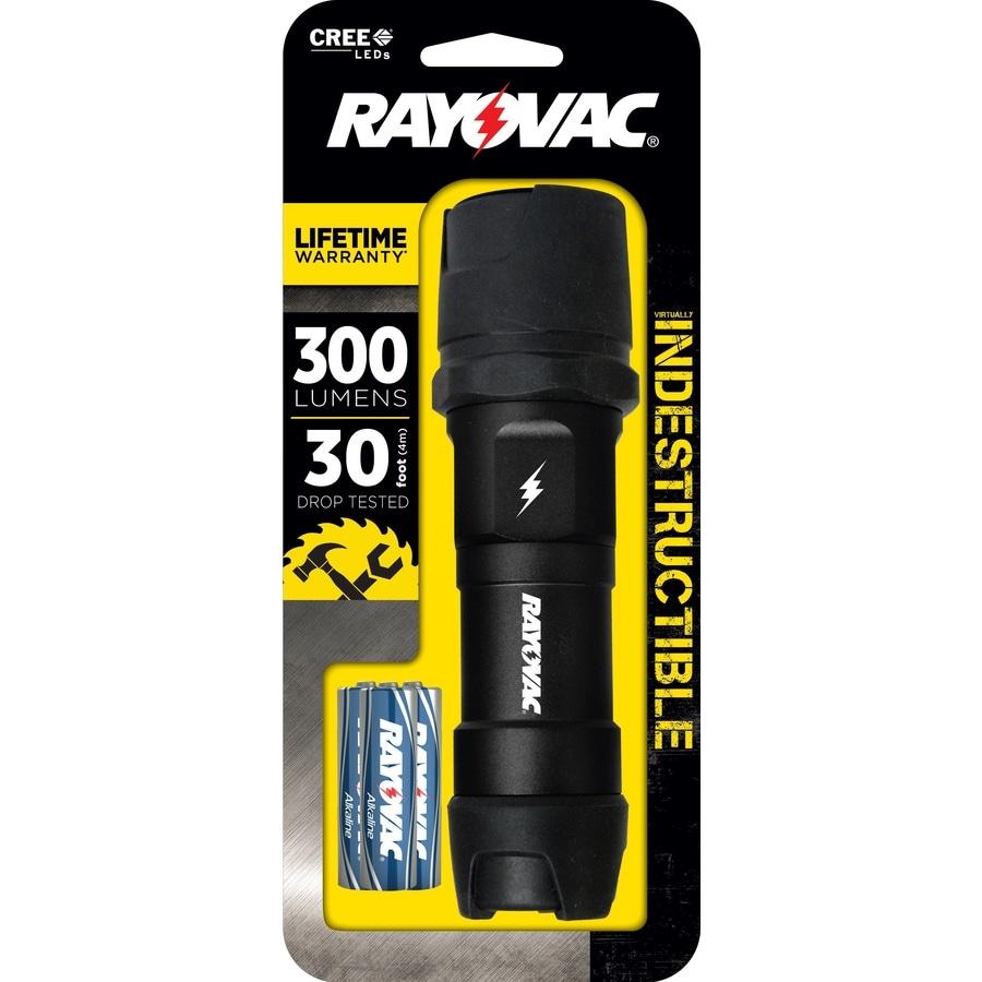 Rayovac 300-Lumen LED Handheld Battery Flashlight (Battery Included)
