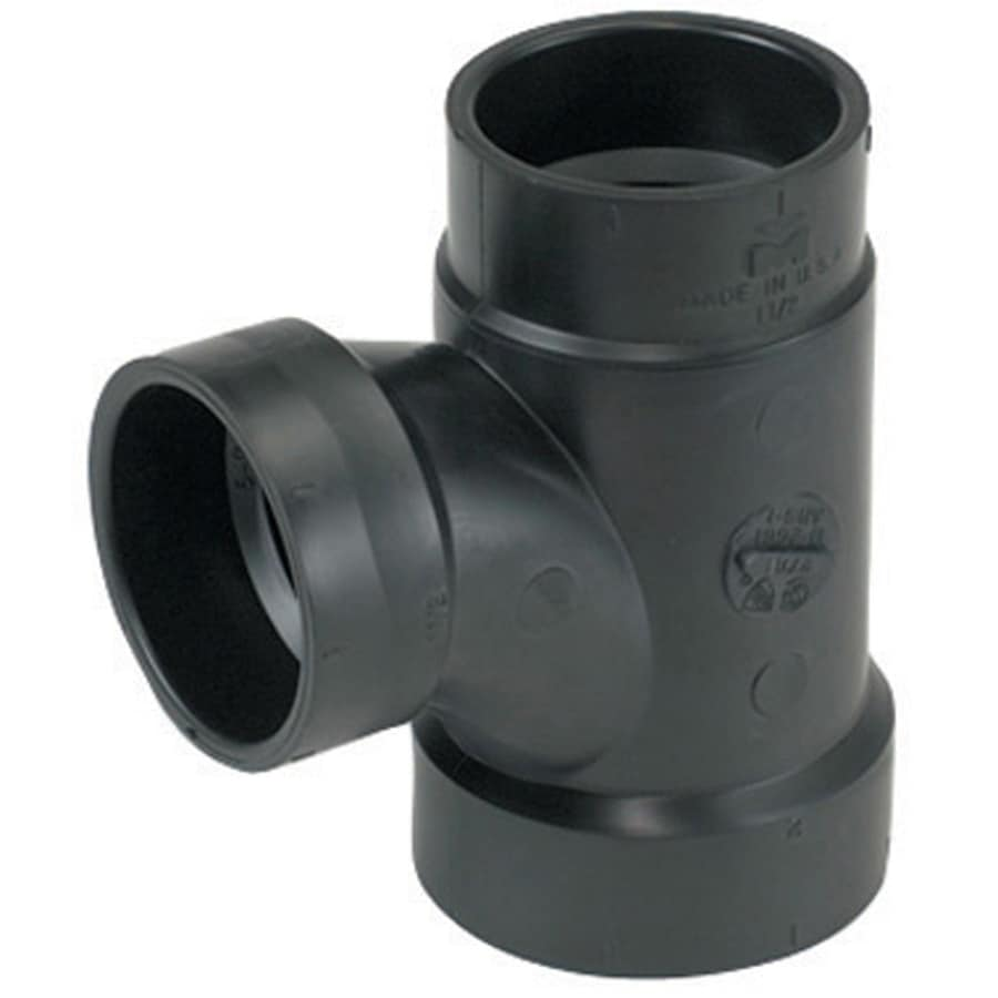 Mueller Streamline 2-in x 2-in x 1-1/2-in Dia ABS Sanitary Tee Fitting
