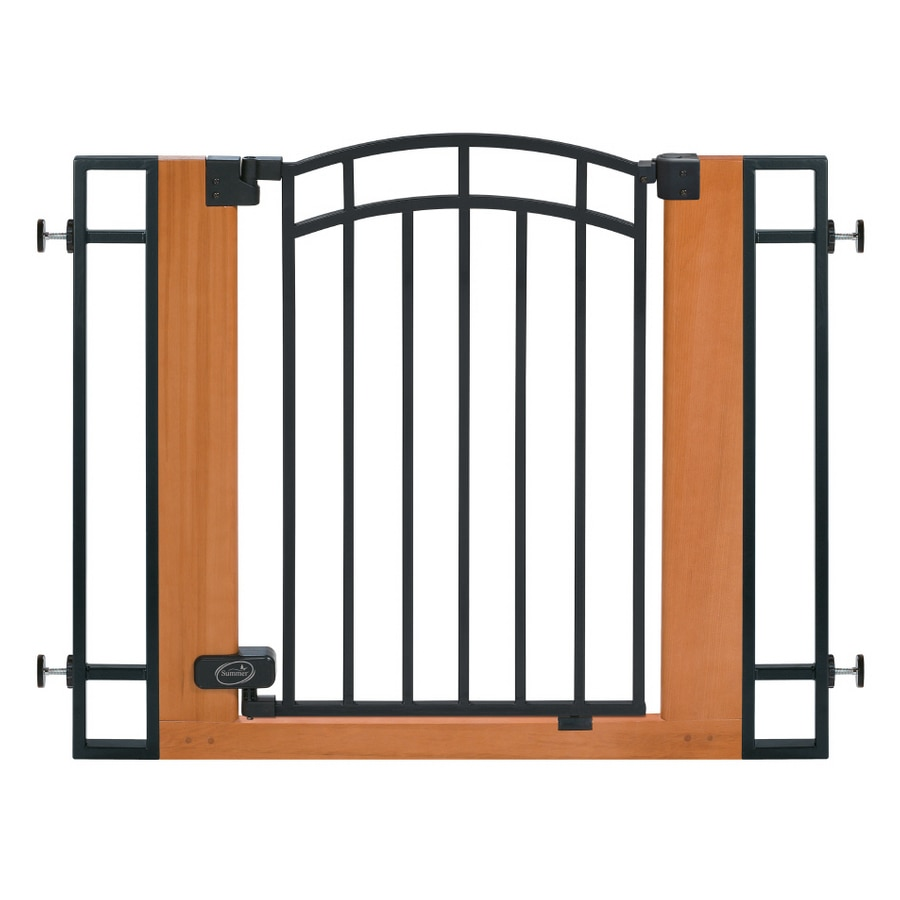 Summer Infant 40-1/2-in x 29-in Wood Child Safety Gate