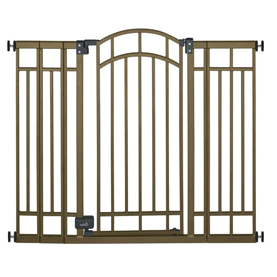 Summer Infant 48 In X 36 In Bronze Metal Child Safety Gate At Lowes Com
