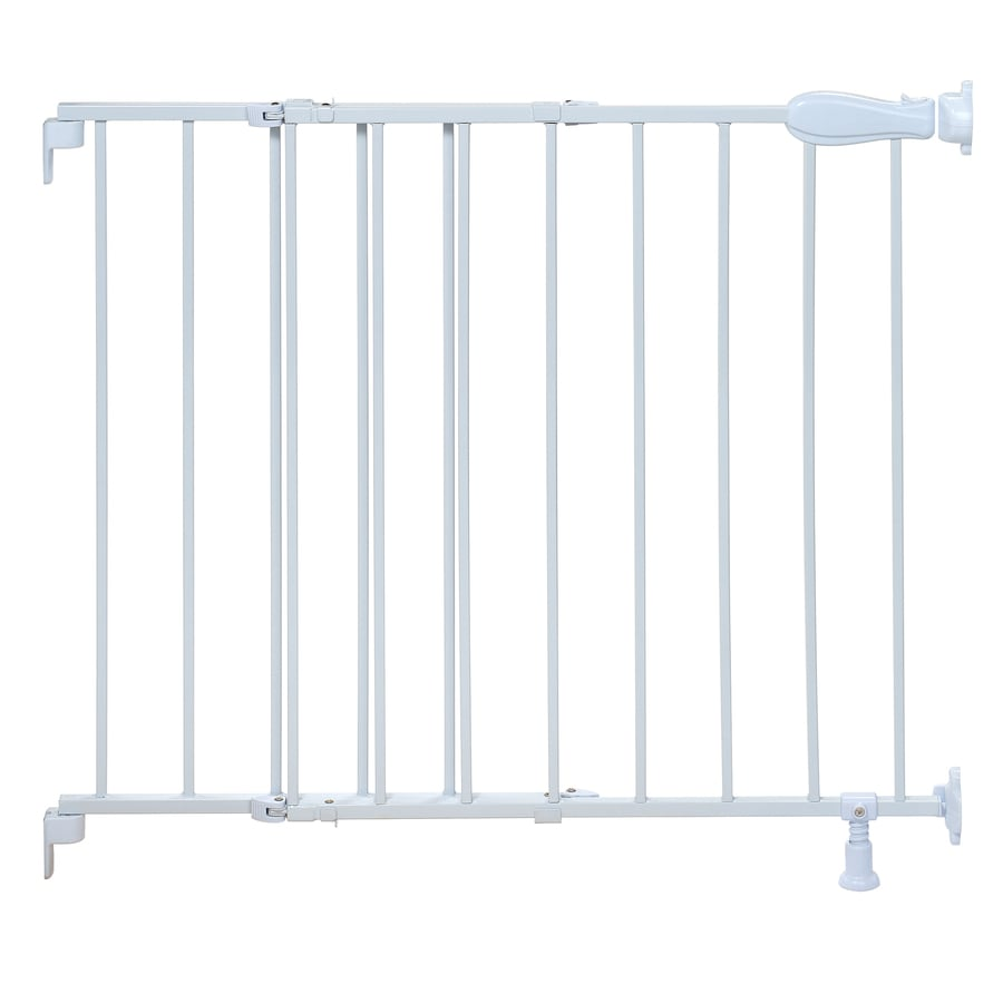Summer Infant 42-in x 30-in White Metal Child Safety Gate