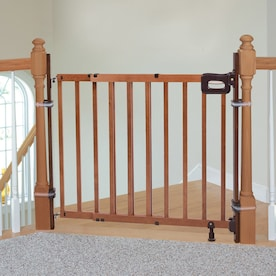 Summer Infant 36.75-in Brown Wood Safety Gate Extender