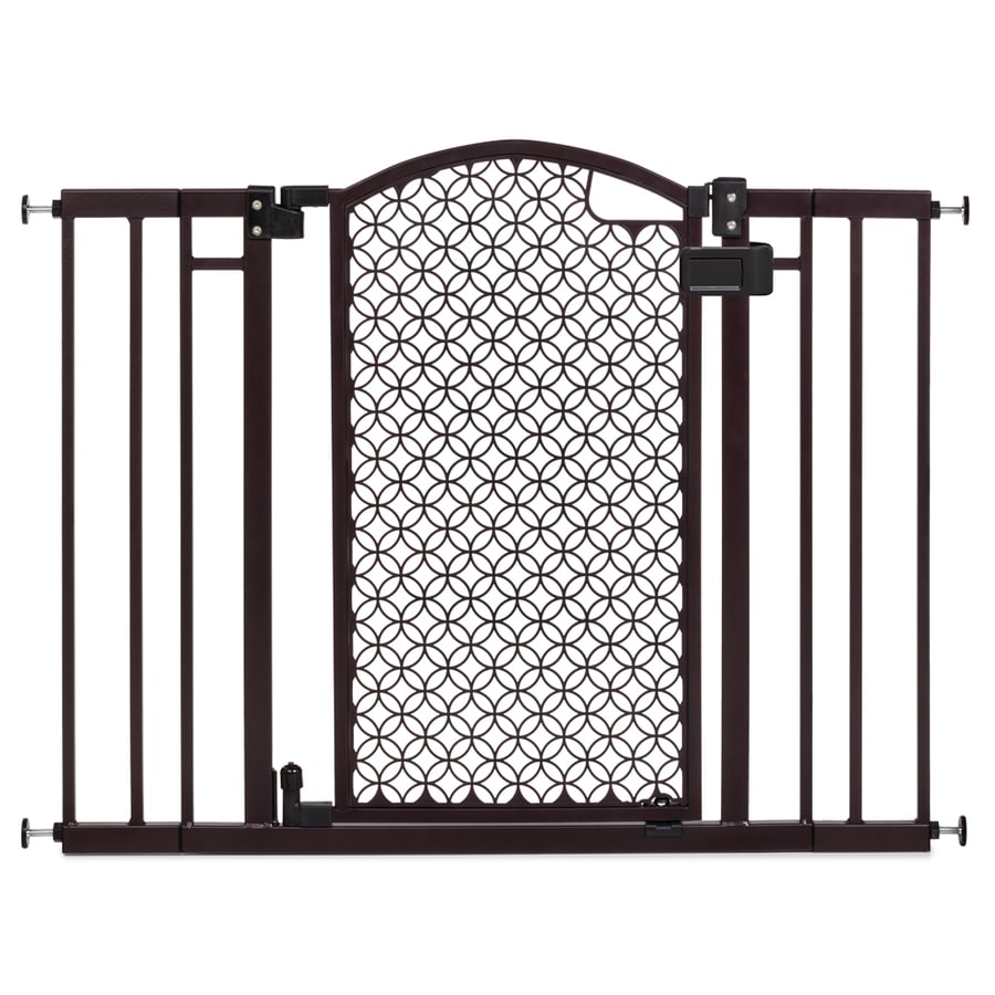 Summer Infant 42 In X 30 In Bronze Metal Safety Gate With