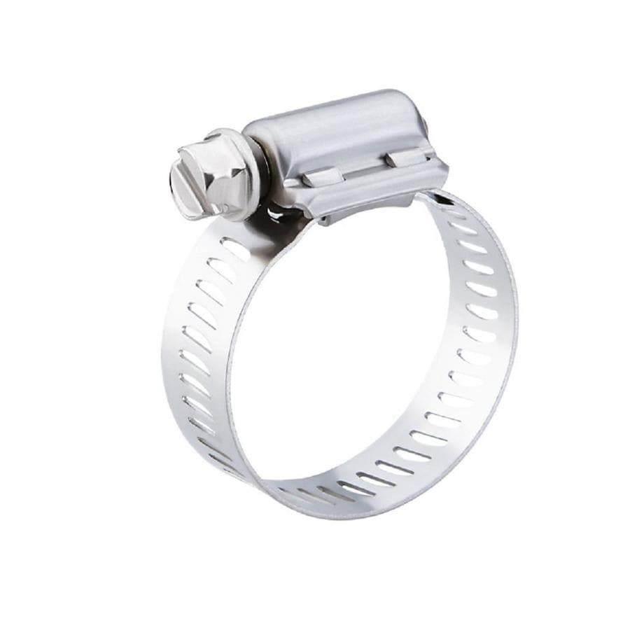 AMERICAN VALVE 13/16-in to 1-3/4-in Dia Stainless steel Adjustable clamp