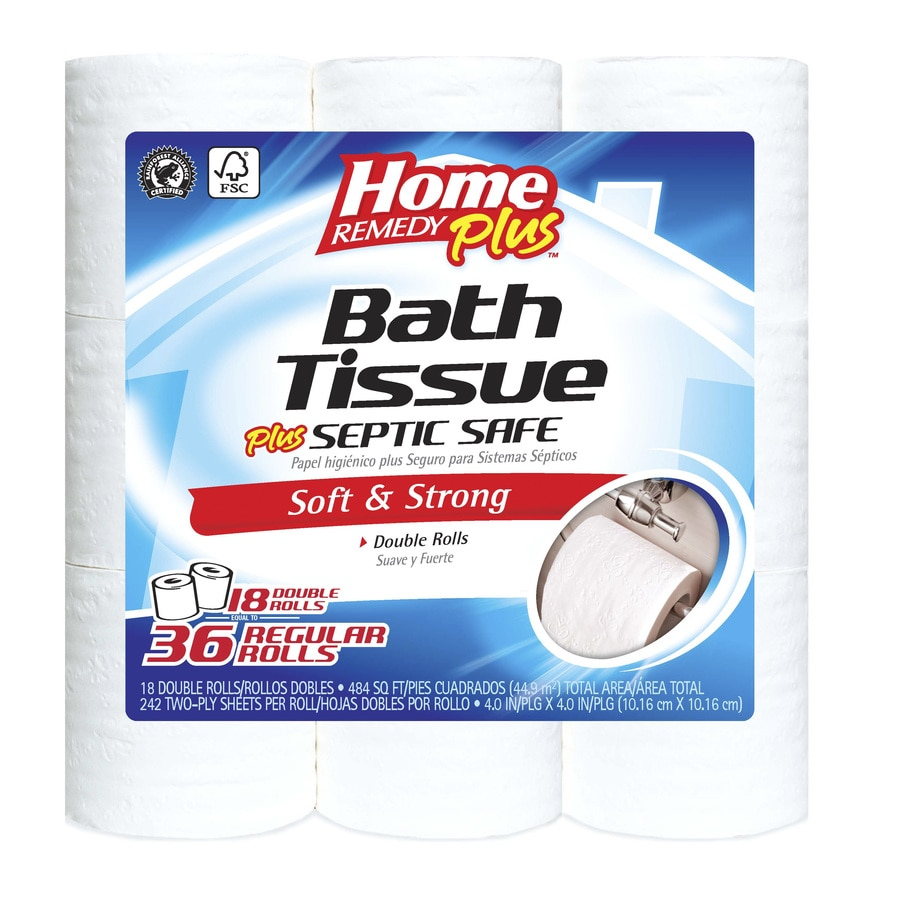 Home Remedy Plus 18-Pack Toilet Paper